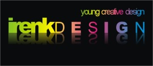 sticker irenkdesign black
