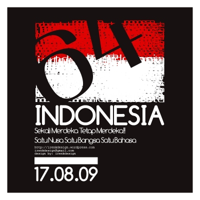 indonesia merdeka 64